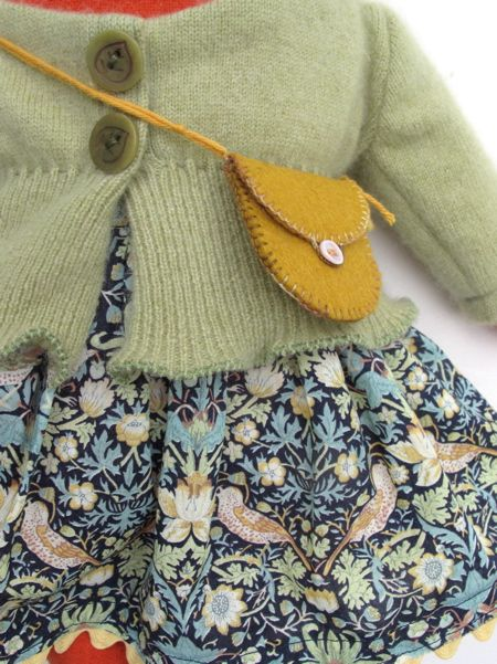 Doll clothes inspiration, made by Mimi Kirchner