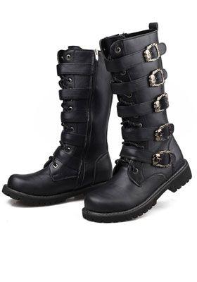 обувь в стиле милитари