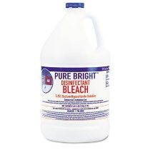 Boardwalk Liquid Bleach, 1 gal Bottle, 6/Carton