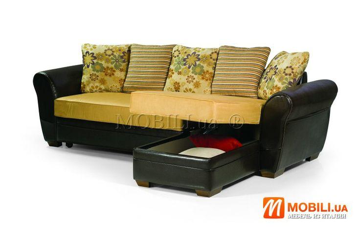 Угловые итальянские диваны-кровати с ортопедическим матрасом