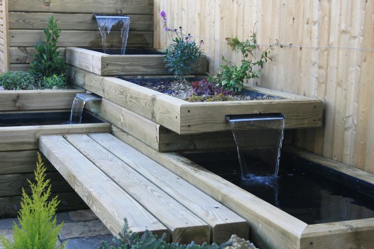 Garden water feature project with ungrooved Jakwall ...