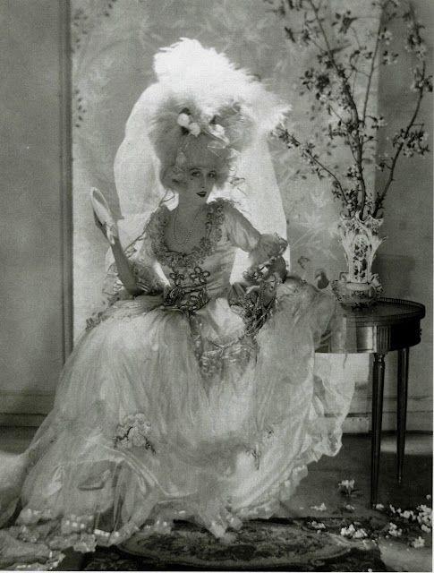 Baron Adolph de Meyer ~ A wedding dress modeled by Helen Lee Worthing, 1920