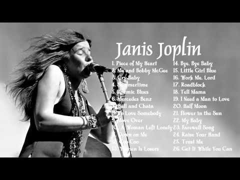 JANIS JOPLIN: Greatest Hits Full Album    Best Songs Of Janis Joplin - YouTube