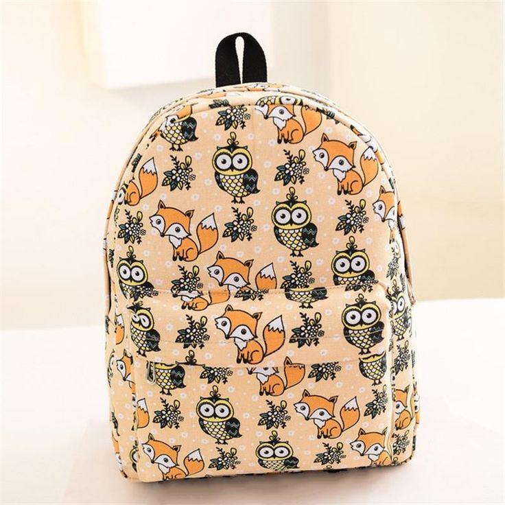 Купить товар2016 женщин рюкзак для девочек рюкзаки Студенты Моды…