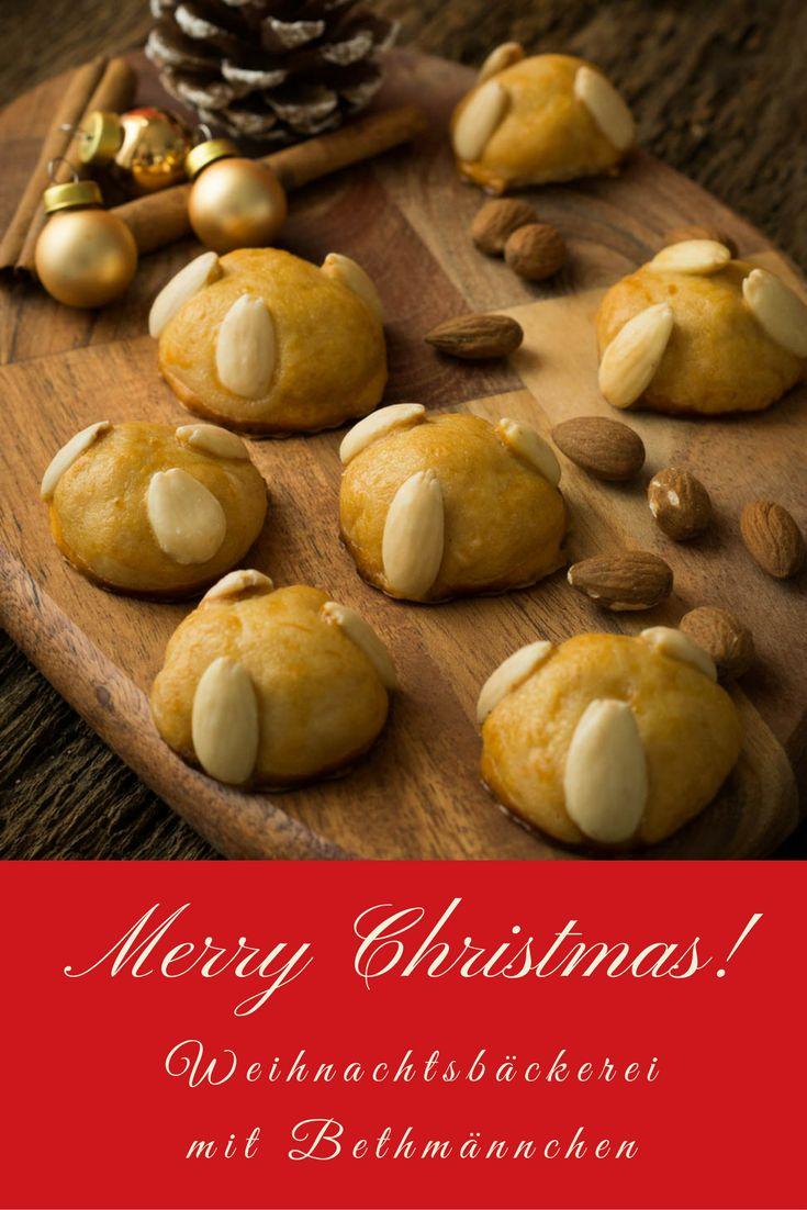 Marzipan Kekse gehören an Weihnachten einfach dazu - und diese Bethmännchen sind so einfach zu backen und dazu noch richtig lecker