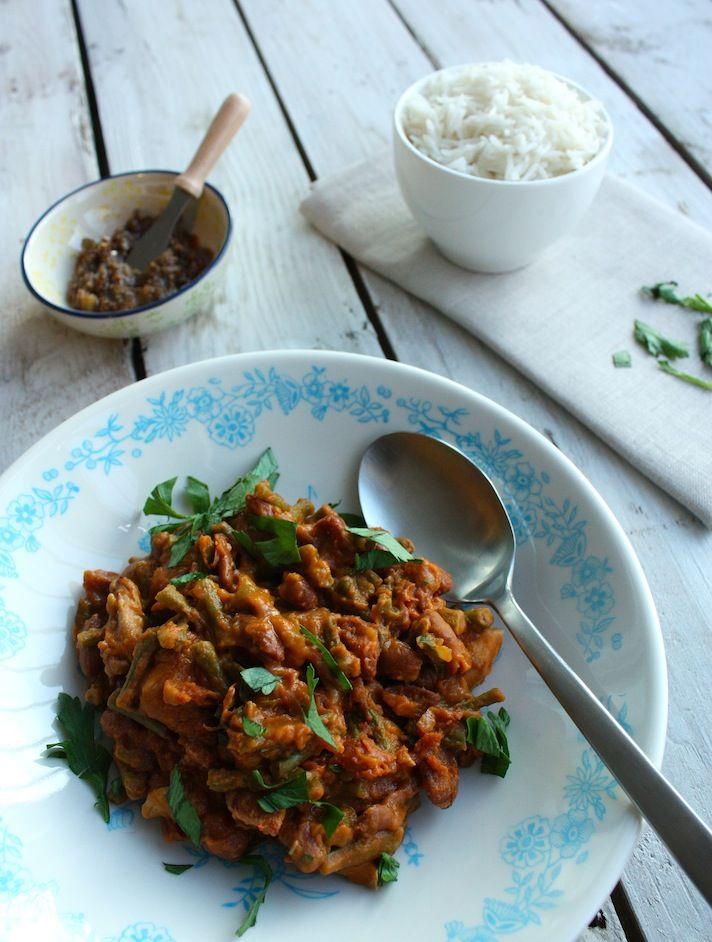 Beans with rice from Surinam | Bruine bonen met rijst | Recipe on www.francescakookt.nl