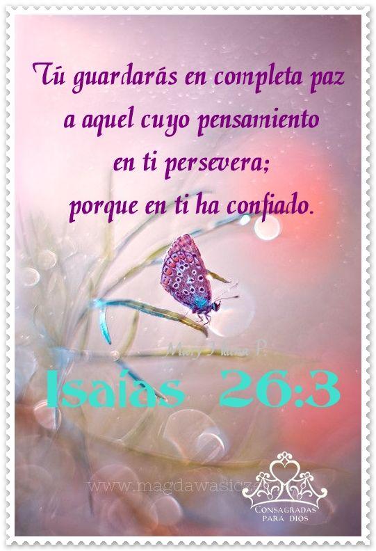 ISAIAS 26:3