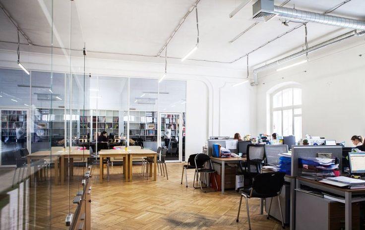 Интерьер офиса Винзавода – 22 фотографии