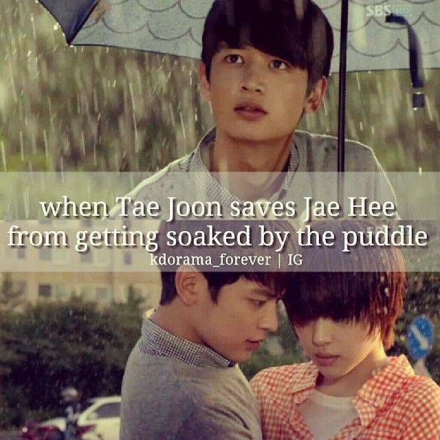 | To The Beautiful You | There is no way that she can pass for a boy in that scene.