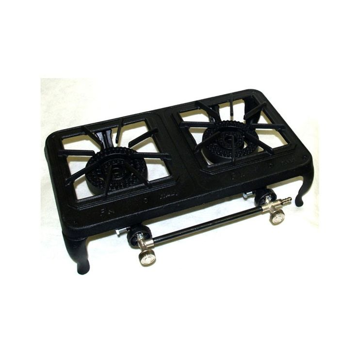 Double Gas Boiling Ring   These heavy duty gas burners are ideal for outdoor events. They come with hosing and a regulator. NB: Specifications may vary with model. It is the responsibility of the hirer to arrange for the installation and connection on-site of any gas appliances to be carried out by a corgi registered engineer.