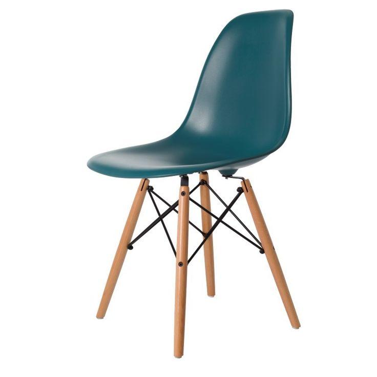 Eames eetkamerstoel. DSW mat. Design Stoelen.