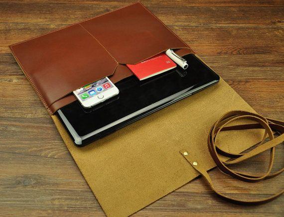 macbook sleeve men macbook sleeve pocket by HandStitched100