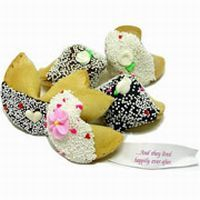 Wedding Cookie Wedding Favors from http://www.FortuneWeddingFavors.com