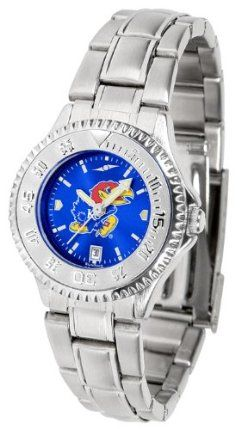 Kansas Jayhawks- University Of Competitor Anochrome - Steel Band - Ladies - Women's College Watches by Sports Memorabilia. $87.08. Makes a Great Gift!. Kansas Jayhawks- University Of Competitor Anochrome - Steel Band - Ladies