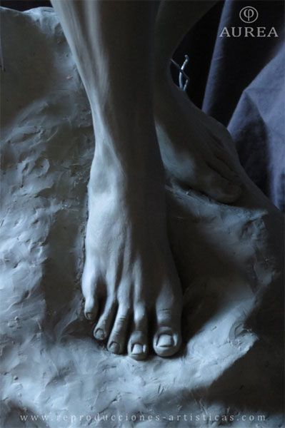 Detalle del pie