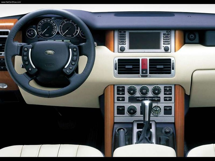 Range Rover Dash