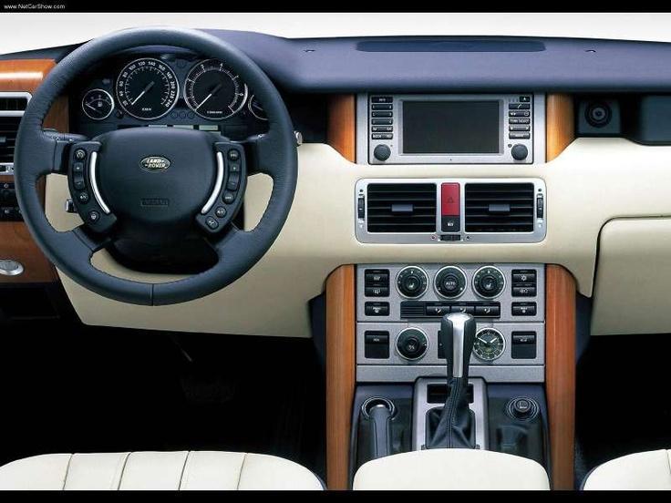 2003 Range Rover Dash