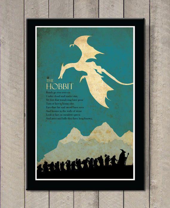 Hoi! Ik heb een geweldige listing op Etsy gevonden: https://www.etsy.com/nl/listing/184370374/the-hobbit-poster
