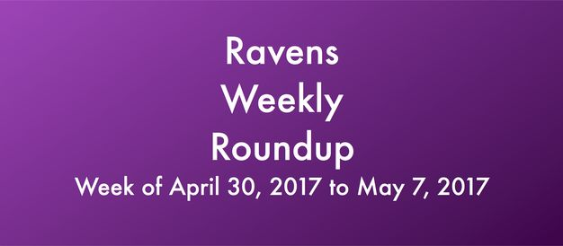 Check out all of this past week's Ravens news in this week's edition of Ravens Weekly Roundup.