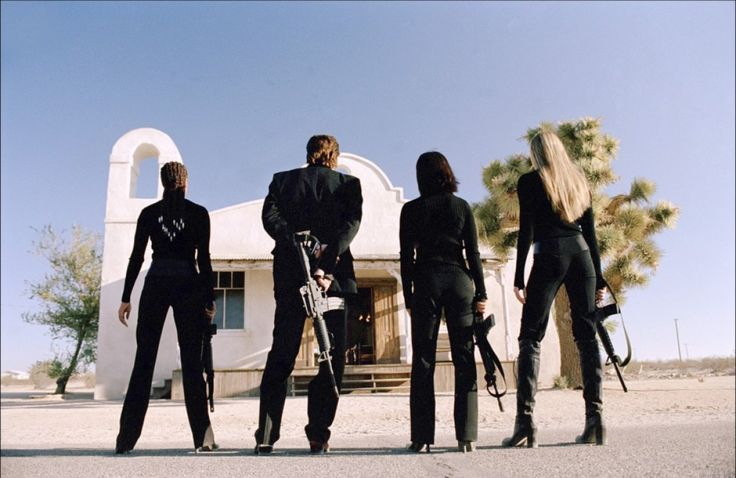 Kill Bill, volume 2 - Lucy Liu - Vivica A. Fox - Uma Thurman - Michael Madsen - Daryl Hannah