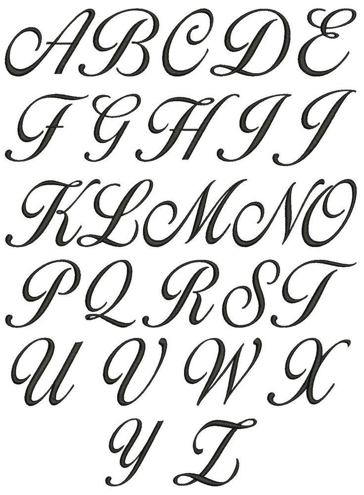 Открытки, красивый шрифт для поздравления алфавит