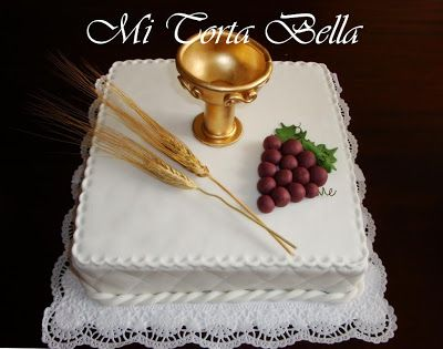 Moja torta Bella: prve pričesti Kolači