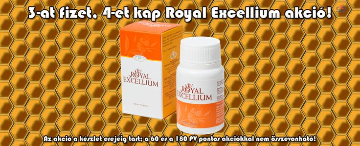 Royal Excellium akció március 18-tól