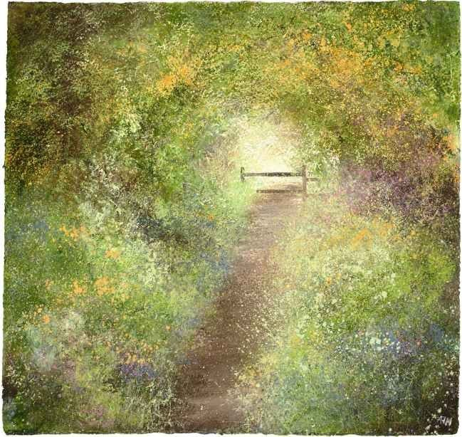 Amanda Hoskin - A Beautiful Path filled with Light and Wildflowers