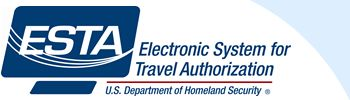 ESTA Electronic System For Travel Authorization, U.S. Department of Homeland Security