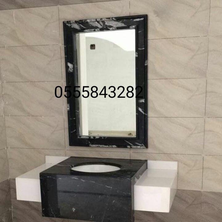 صور مغاسل رخام Bathroom Mirror Bathroom Vanity Vanity