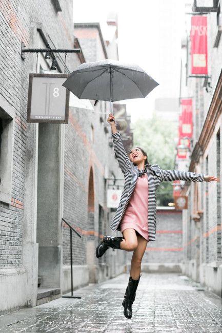 Greetings from Shanghai :: Rain day & Hugo Boss fashion show