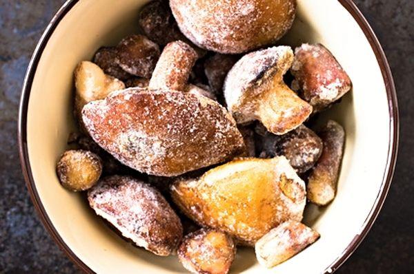 Recept na Mražené houby - polotovar