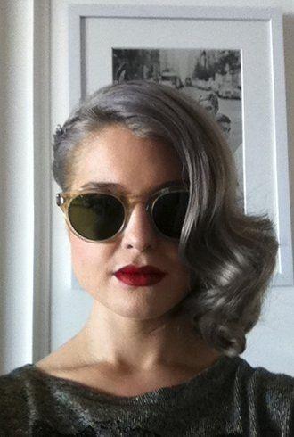 69 Best Gray Hair Images On Pinterest