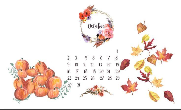 October November 2016 Calendar 4
