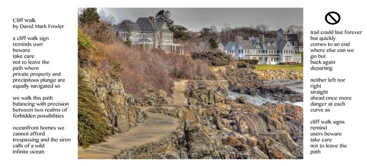 York Harbor Cliff Walk Beginning at Hartley Mason Reservation in York, Maine