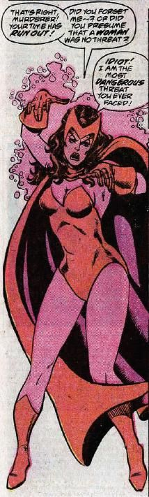 Scarlet Witch by George Perez and Pablo Marcos (Marvel)