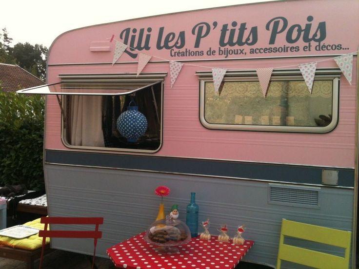 boutique caravane Lili les p'tits pois