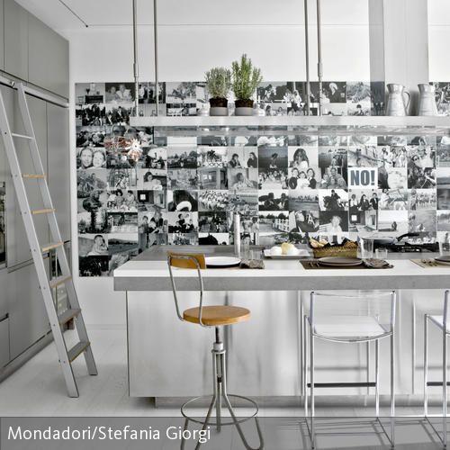 62 besten Küche Bilder auf Pinterest Hausdekorationen, Küchen - k cheninsel auf rollen