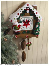 Bucilla ® Seasonal - Felt - Home Decor - Christmas Time Wall Hanging. #crafts #bucilla #plaidcrafts #felt #christmas