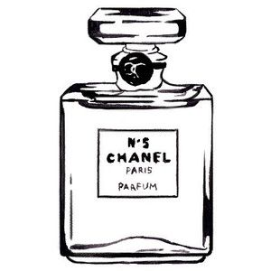 Chanel perfume clipart 4