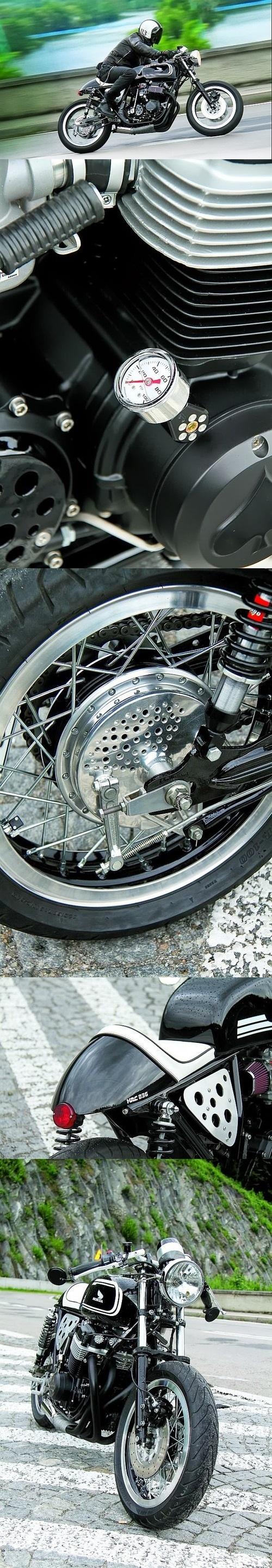 Honda CB750 Cafe Racer from Poland #caferacer #motorcycles #motos   caferacerpasion.com