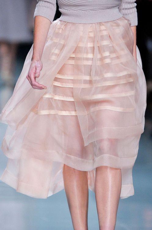 dior fall 2012: Blushes Pink, Pfw Fall, Pink Skirts, Christiandior, Christian Dior, Fall 2012, Pretty Skirts, 2012 Rtw, Dior Pfw