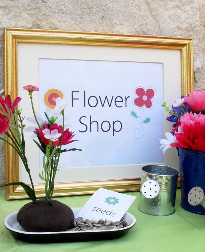 Dramatic Play Day - Flower Shop