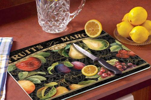 Tuscan-Style-Gourmet-Fruit-Glass-Cutting-Board-Unique-Gift-Tuscany-Home-Decor