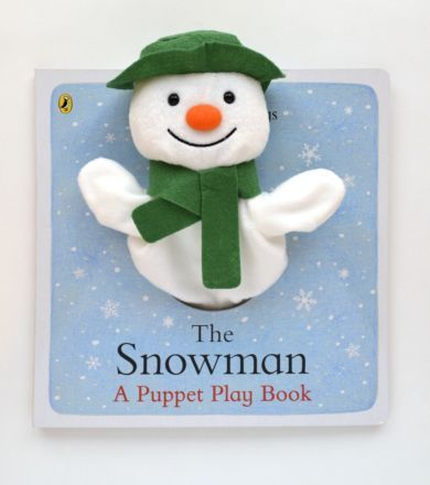 I'm shopping The Snowman Hand Puppet Book By Raymond Briggs in the Mothercare iPhone app.