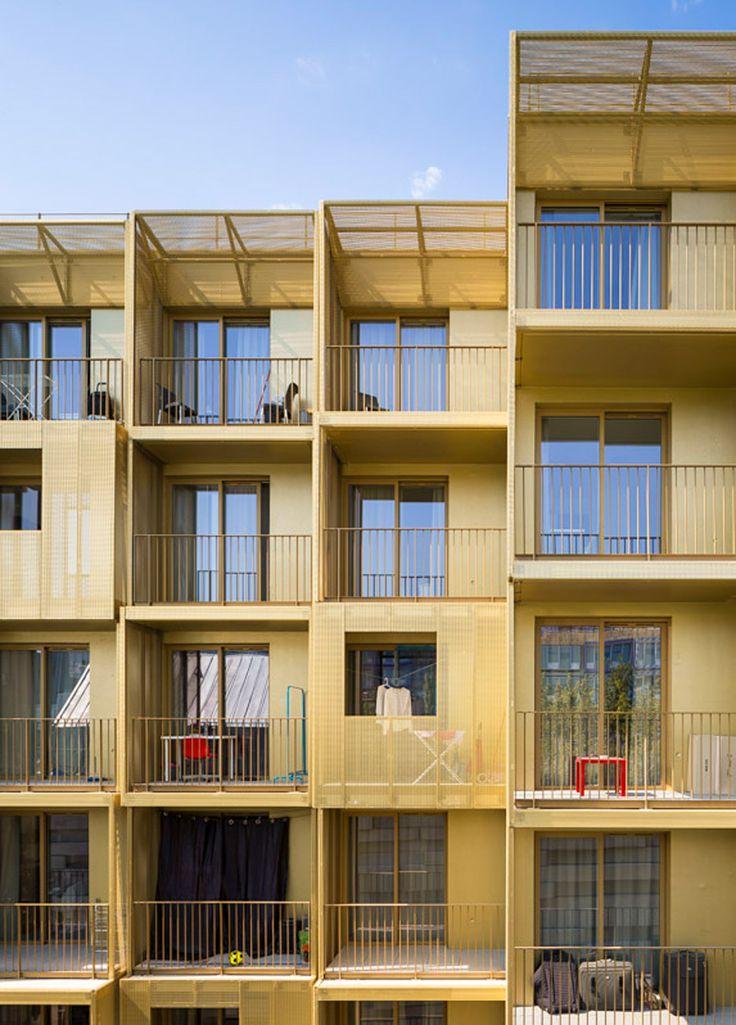 Student housing in Paris by Hamonic+Masson & Associés