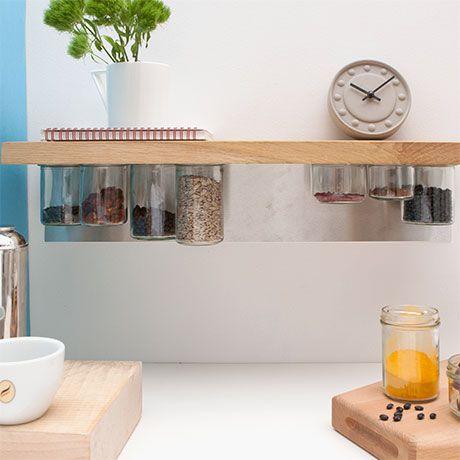 41 best Wohnen images on Pinterest Live, Decorating ideas and - küchenregal mit beleuchtung