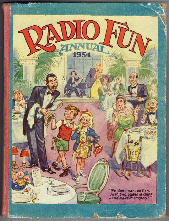 VINTAGE TREASURE - Radio Fun Annual 1954