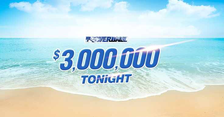 Imagine waking up to sunrise over the ocean and sand between your toes every day… Make it happen with $3,000,000 Powerball tonight!