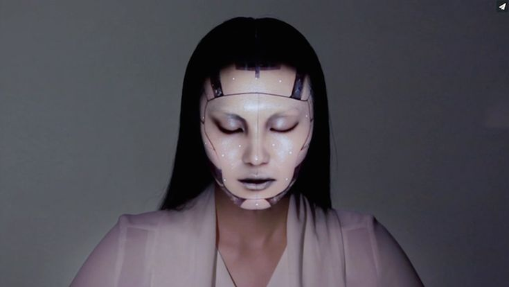 OMOTE / REAL-TIME FACE TRACKING & PROJECTION MAPPING on Vimeo